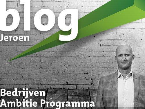 Blog - Jeroen Haanstra - Bedrijven programma