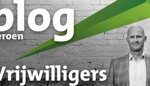 Blog - Jeroen Haanstra - Vrijwilligers