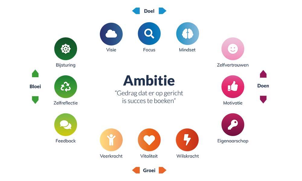 Ambitiehuis ontwikkel model - Ambitie model